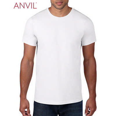 Anvil Adult Lightweight Tee White